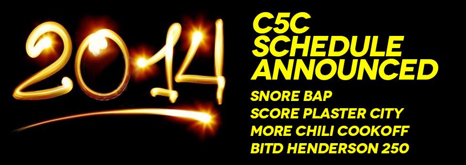 2014 Class 5 Coalition Race Schedule
