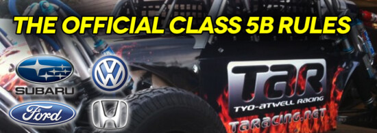 Class 5 Engine Option Rules